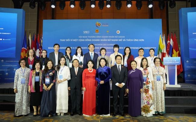 Hội nghị thượng đỉnh doanh nhân nữ ASEAN và các nữ tướng Việt