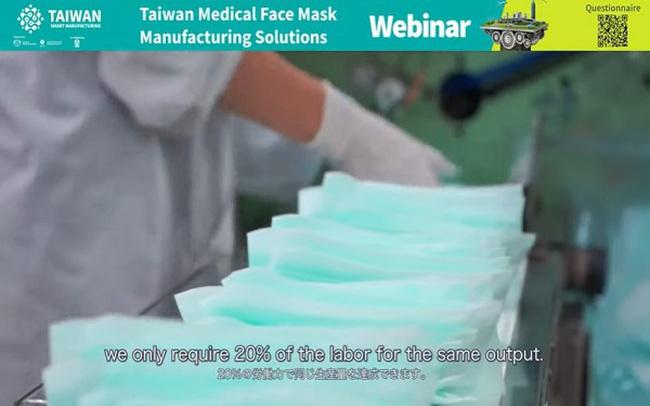 Doanh nghiệp Đài Loan giới thiệu các giải pháp sản xuất khẩu trang y tế