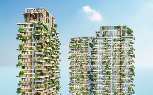 Tạp chí danh tiếng của Mỹ dành vị trí nổi bật trang chủ viết về toà tháp xanh biểu tượng của Ecopark