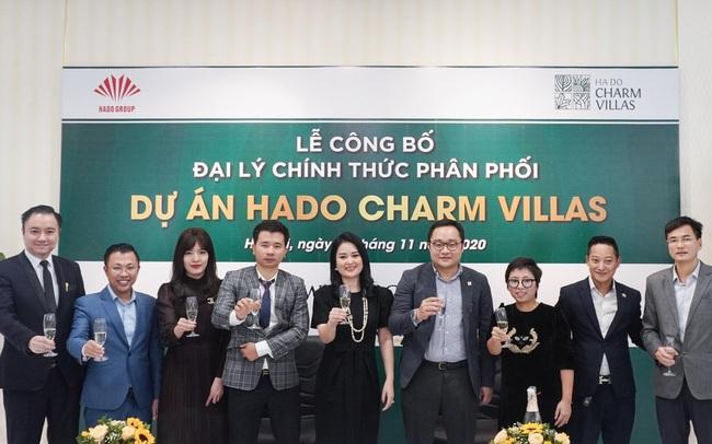 Công bố đại lý chính thức phân phối dự án Hado Charm Villas