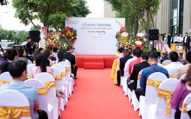 Khai trương showroom Thảm Hán Long: Vô vàn ưu đãi cho đối tác và người tiêu dùng