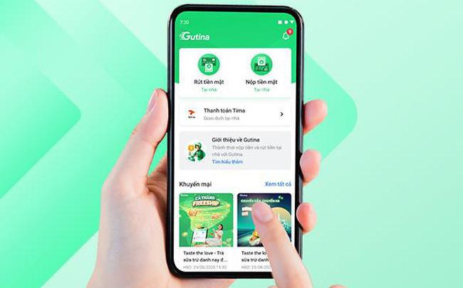 Ứng dụng hỗ trợ kết nối nộp - rút hộ tiền mặt 24/7 theo mô hình Grab