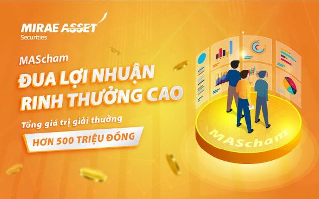 Vừa giao dịch, vừa có thể rinh giải thưởng tại chứng khoán Mirae Asset