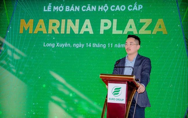 Euro Group: Mở bán căn hộ cao cấp Marina Plaza Long Xuyên miền Tây