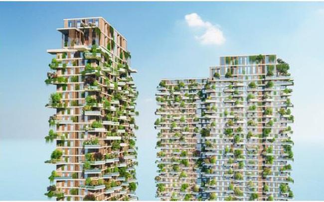 Hàng loạt báo quốc tế viết về tòa tháp xanh Ecopark