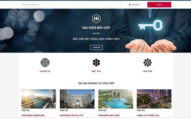 JACKBY - Mô hình mới về dịch vụ tư vấn mua và bán bất động sản cao cấp