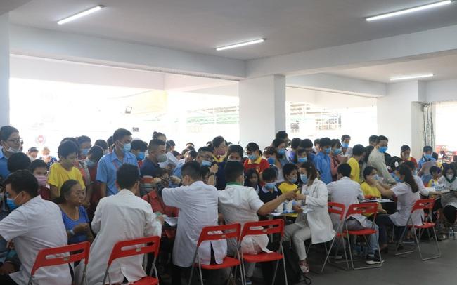 Tập đoàn giáo dục Nguyễn Hoàng đồng hành khám sức khỏe miễn phí cho 2.000 người tại TP.HCM