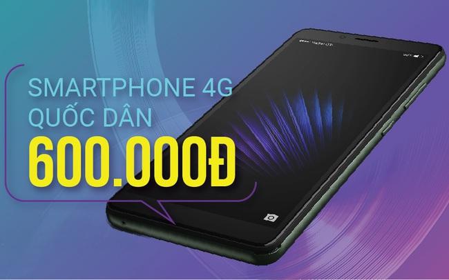 """Viettel """"bắt tay"""" Vingroup bán smartphone chính hãng 4G siêu rẻ, chỉ 600.000 đồng"""
