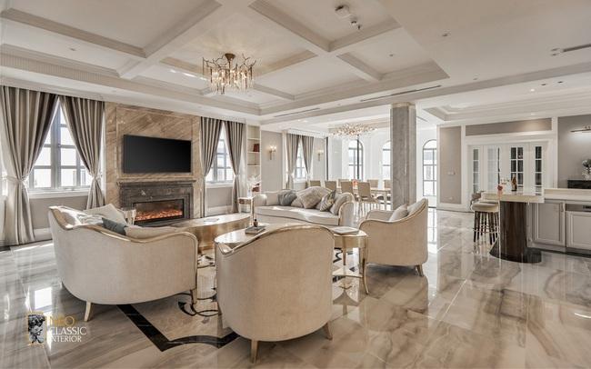 Penthouse Long An và thiết kế Tân cổ điển đẳng cấp hoàng gia