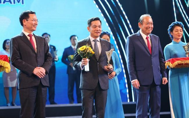 Fintech hàng đầu Việt Nam nhận giải thưởng thương hiệu quốc gia 2020