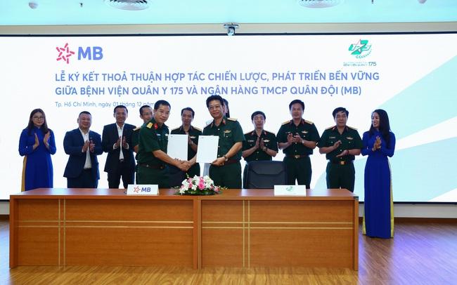 MB và Bệnh viện Quân y 175 ký kết thỏa thuận hợp tác chiến lược