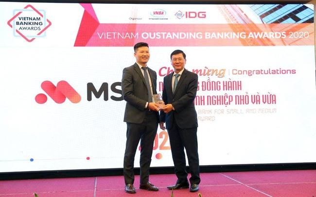 MSB được IDG và VNBA trao giải thưởng Ngân hàng đồng hành cùng Doanh nghiệp hiệu quả năm 2020