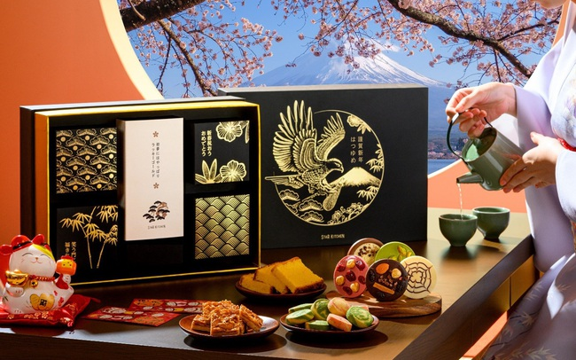 Xu hướng Quà tết cao cấp 2021: Set quà sang trọng nhập khẩu từ Nhật Bản