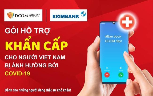 Eximbank cùng DCOM hỗ trợ người Việt bị ảnh hưởng bởi dịch Covid-19 tại Nhật