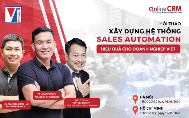 Tự động hóa bán hàng - Con đường phát triển bền vững cho doanh nghiệp Việt