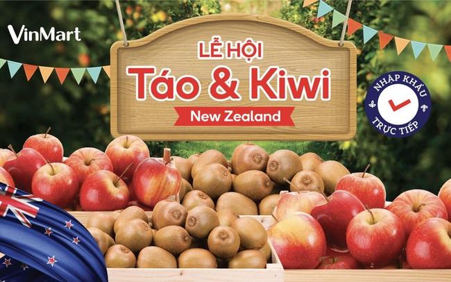 """VinMart tổ chức """"Lễ hội Táo và Kiwi nhập khẩu từ New Zealand"""""""
