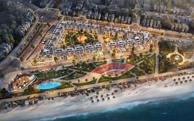 Sắp ra mắt 46 lô shop villas mặt biển tại Phú Yên
