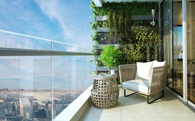 Vì sao thiết kế căn hộ có logia luôn được ưa chuộng?