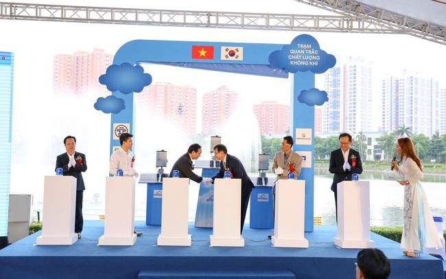 Người dân Hà Nội có thêm 24 trạm quan trắc chất lượng không khí tự động