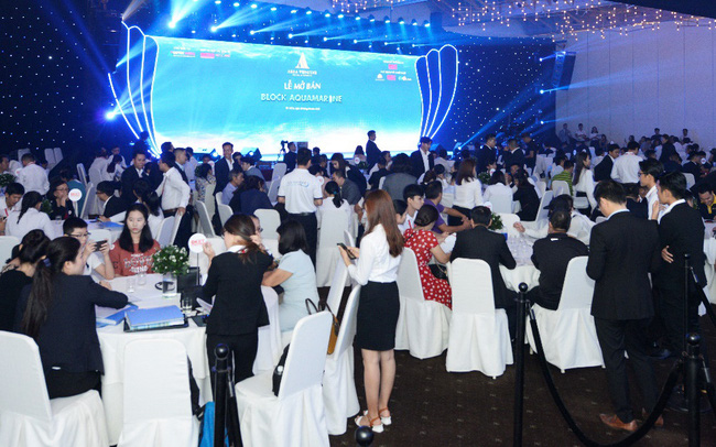 Aquamarine hút nhà đầu tư trong và ngoài nước tại sự kiện mở bán