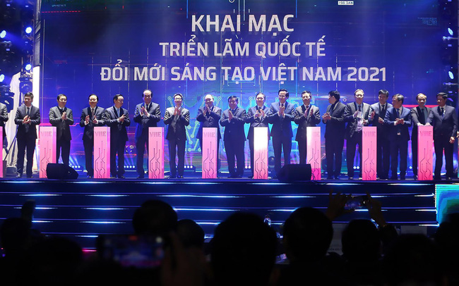 Dấu ấn của Sunshine Group tại Triển lãm quốc tế Đổi mới sáng tạo Việt Nam 2021