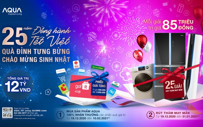 AQUA Việt Nam tổ chức chương trình tri ân khách hàng lên tới 12 tỷ đồng