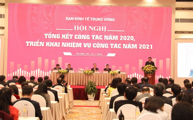 Ban kinh tế Trung ương: Tổng kết công tác năm 2020 và triển khai nhiệm vụ mới
