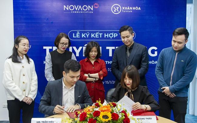 Nội thất Xuân Hòa hợp tác cùng Novaon Communication trong chiến dịch kỉ niệm 40 năm thành lập