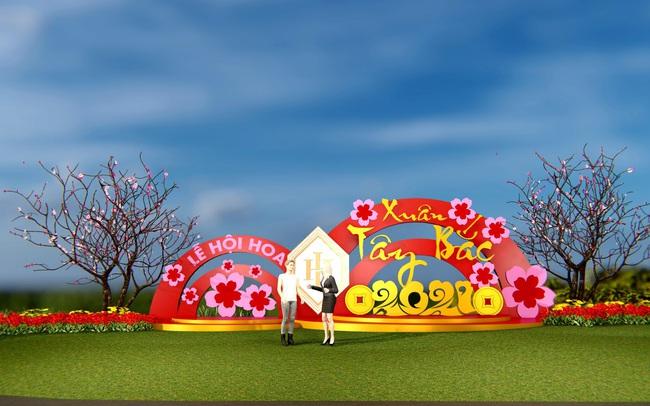 """Chờ đón Lễ hội hoa """"Xuân Tây Bắc 2021""""quy mô bậc nhất Hòa Bình"""
