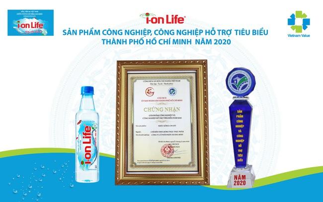 Ion Life khẳng định vị thế trong ngành nước giải khát Việt Nam