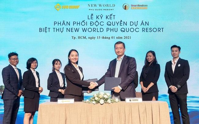 """SmartRealtors độc quyền phân phối biệt thự """"làng biển"""" New World Phu Quoc Resort"""