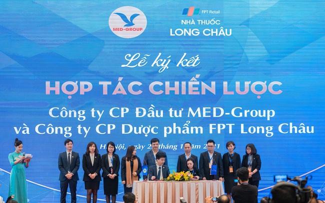Nhà thuốc FPT Long Châu ký kết hợp tác chiến lược với MED Group