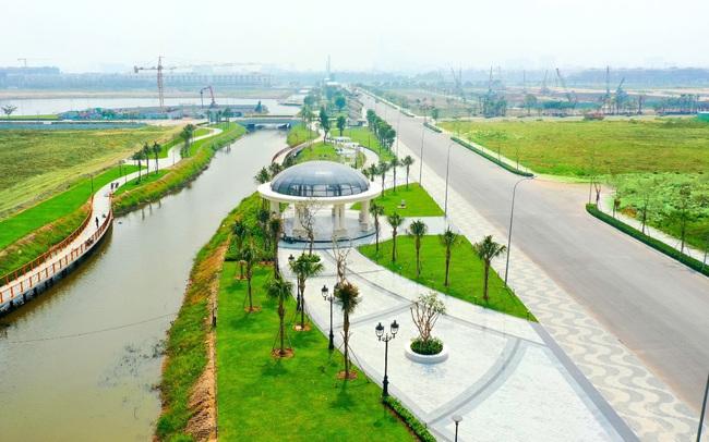 Hơn 350 tỷ đồng hoàn thiện 5ha công viên và tuyến phố đi bộ tại Vạn Phúc City