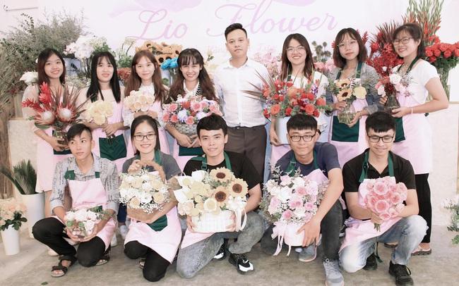 LioFlower: Shop hoa giao hàng 45 phút, chỉ bằng một nửa thời gian so với truyền thống