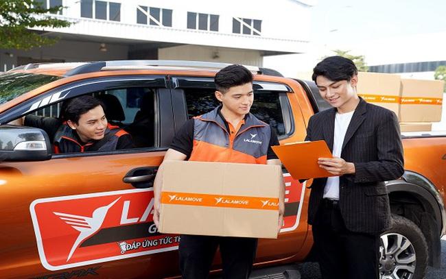 Dịch vụ giao hàng nội thành bằng xe tải của Lalamove được ưa chuộng