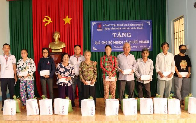 PV GAS tích cực chia sẻ yêu thương Xuân Tân Sửu 2021