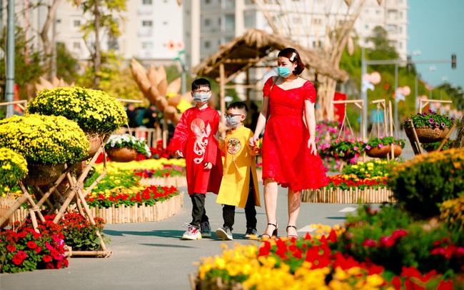 Đường hoa Home Hanoi Xuân: Điểm đến an toàn Tết Tân Sửu