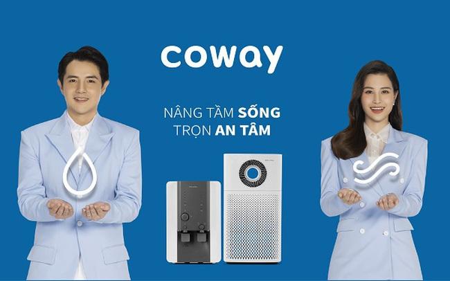 Đông Nhi, Ông Cao Thắng trở thành đại sứ thương hiệu Coway Vina