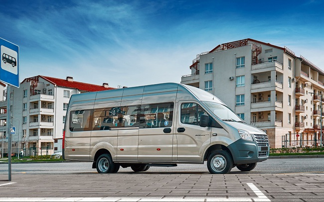 GAZelle NEXT 20 chỗ – Sản phẩm minibus 7M nhập khẩu nguyên chiếc từ Cộng Hòa Liên Bang Nga