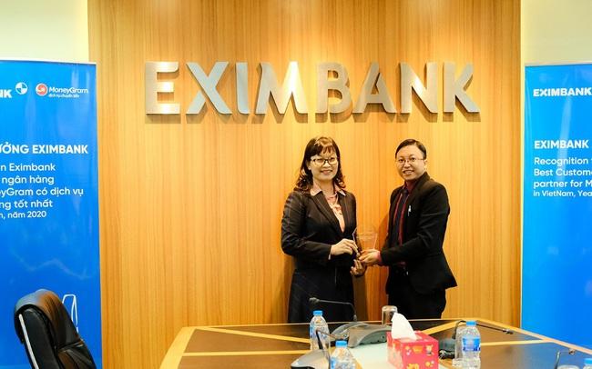 MoneyGram công nhận Eximbank là ngân hàng đối tác có dịch vụ khách hàng tốt nhất tại Việt Nam