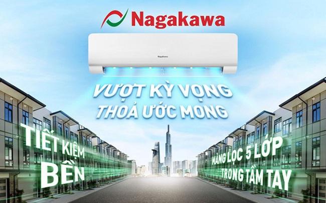 Điều hòa Nagakawa chính thức có mặt tại hệ thống Điện Máy Xanh