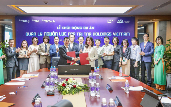 TNR Holdings Vietnam cùng FPT IS khởi động dự án ERP SAP S/4HANA