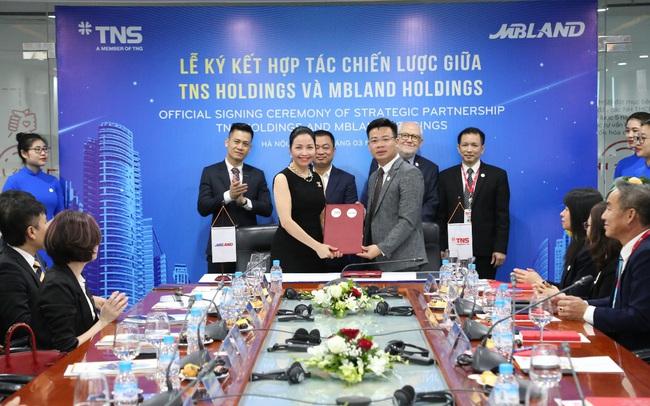 TNS Holdings và MBland Holdings hợp tác chiến lược
