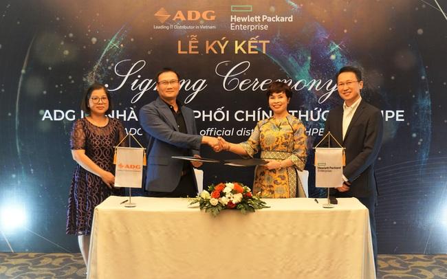 ADG Distribution trở thành Nhà phân phối mới của HPE tại Việt Nam
