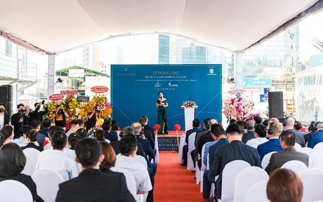 Delta Group động thổ khu bất động sản hàng hiệu Grand Marina Saigon