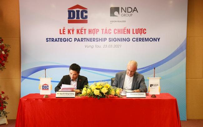 Tập đoàn DIC và NDA Group ký kết hợp tác chiến lược