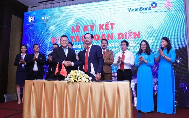 An Lạc Việt Land và Vietinbank ký kết hợp tác toàn diện