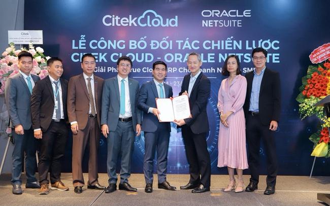Citek Cloud giới thiệu giải pháp ERP Oracle NetSuite cho doanh nghiệp SME