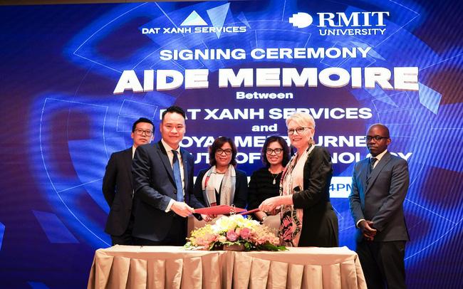 Dat Xanh Services hợp tác chiến lược với RMIT Melbourne nghiên cứu trí tuệ nhân tạo