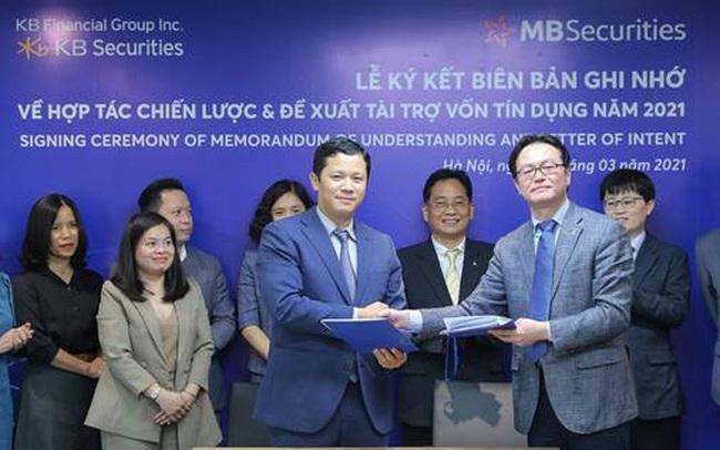 MBS và KBSV ký kết thành công thỏa thuận hợp tác chiến lược